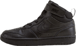 Court Borough Mid Sneaker PS Black
