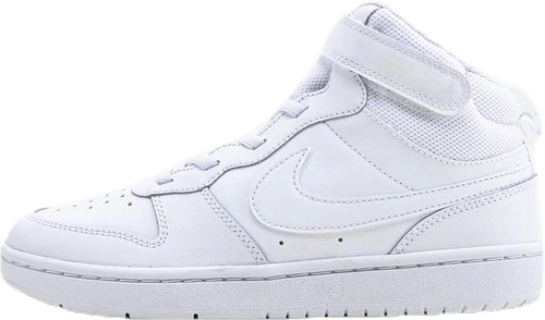 Court Borough Mid Sneaker PS White