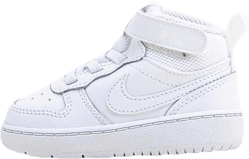 Court Borough Mid Sneaker TD White