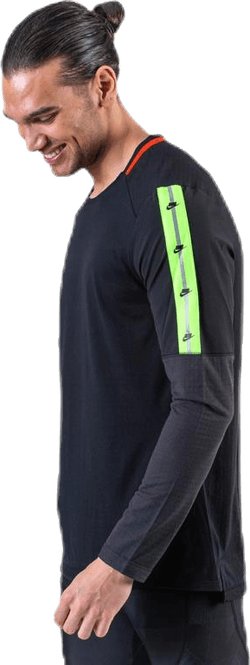 Wild Run Top LS Green/Black