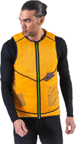 Wild Run Aerolayer Vest Yellow