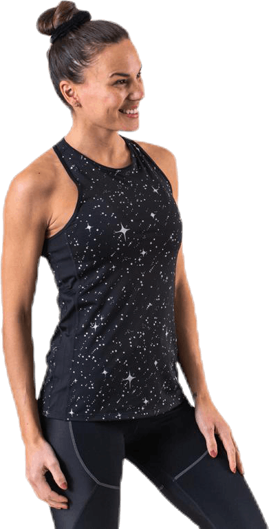 Starry Night MTLC Tank Black/Grey