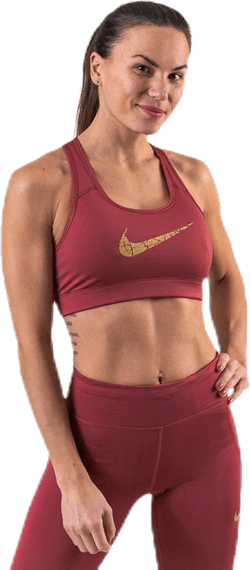 Victory Comp Bra Metallic Gold/Red