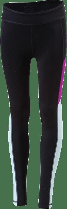 Girls Trophy Tight Purple/Black