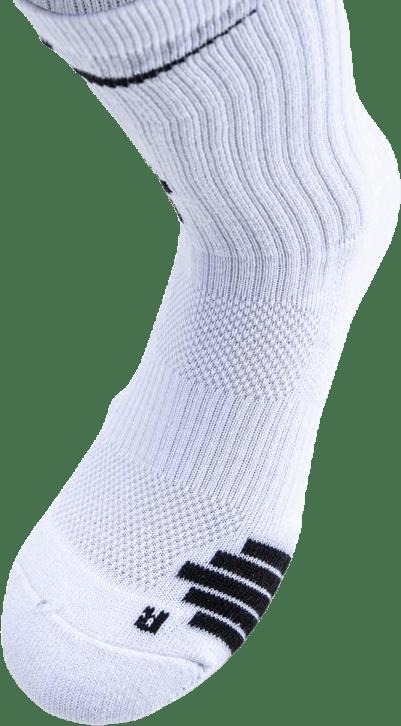 Kyrie Elite Crew Basketball Socks White/Black