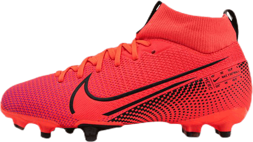 Jr Superfly 7 Academy FG/MG Pink/Black
