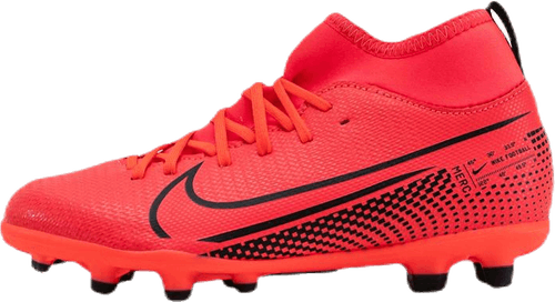 Jr Superfly 7 Club FG/MG Pink/Black