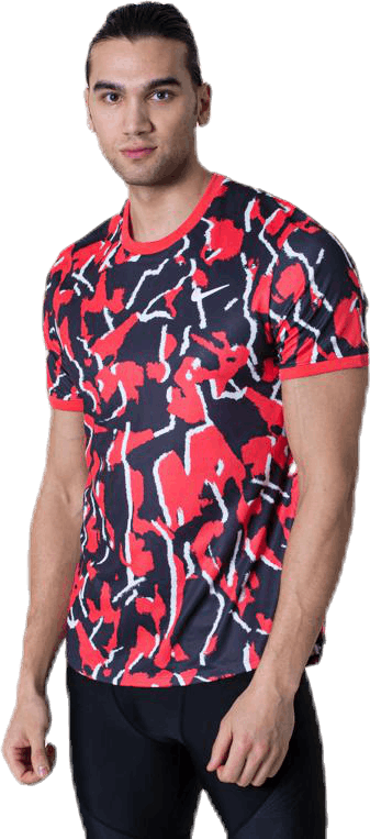 Court Dri-FIT Printed White/Red