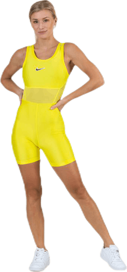 Court Tennis Bodysuit Yellow