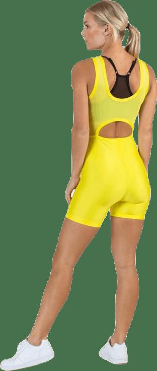 Court Tennis Bodysuit Yellow