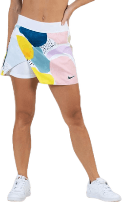 Court Tennis Skirt White/Black