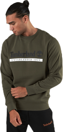 Yc Established 1973 Crew Neck Sweatshirt Green