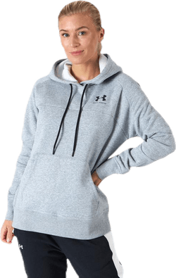 Rival Fleece Color block Hoodie Grey