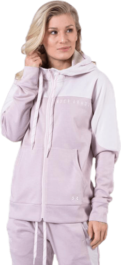 Recover Knit FZ Hoodie Pink