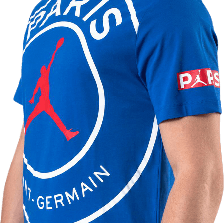 Jordan X Psg Tee Game Royal/White/University Red