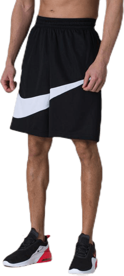 Dri-FIT HBR Basketball Shorts White/Black