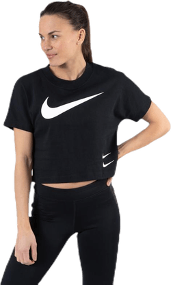 Nsw Swoosh Top Ss White/Black