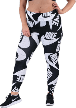 NSW Icon Clash Printed Leg Plus Black