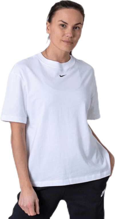 Nsw Essential Ss Bf Top White/Black