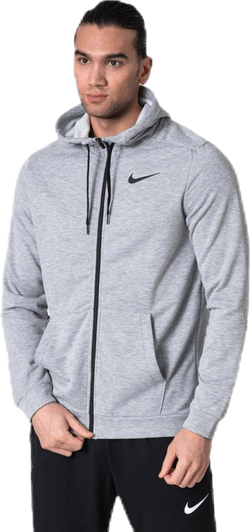 Dry Hoodie Full-Zip Fleece Grey