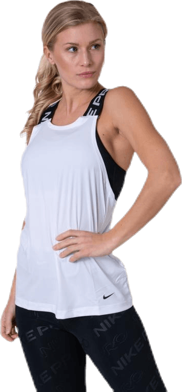 Pro Dry Elastika Tank Top White/Black