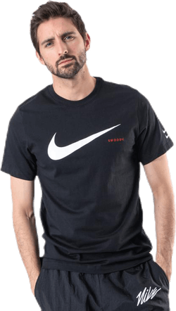 Nsw Swoosh HBR SS Tee White/Black