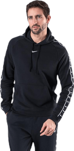 Nsw Swoosh Flc Po Hoodie Ft White/Black
