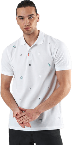Charms Polo Slim White/Green