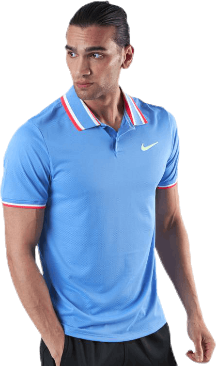 Court Slam Polo Blue/Green