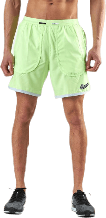 Flex Wild Run Brief Green/Yellow