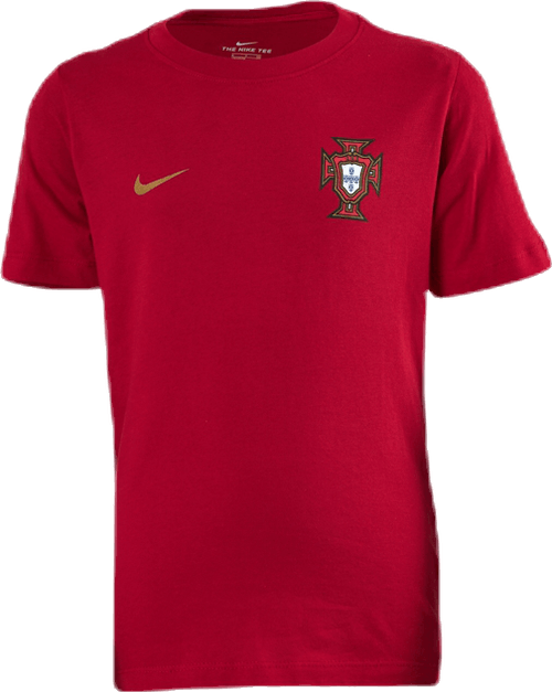 Portugal Tee Jr Red