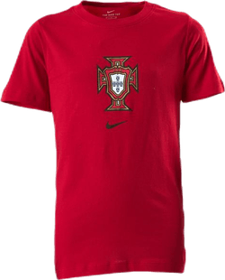 Portugal Tee Evergreen Crest Jr Red