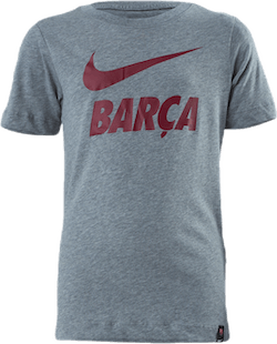 FC Barcelona Tee TR Ground Jr Grey
