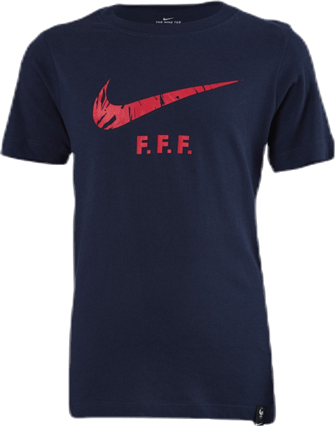 France Tee TR Ground Jr Blue