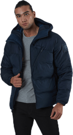 Neo Water Repellent Quilted Jacket Blue