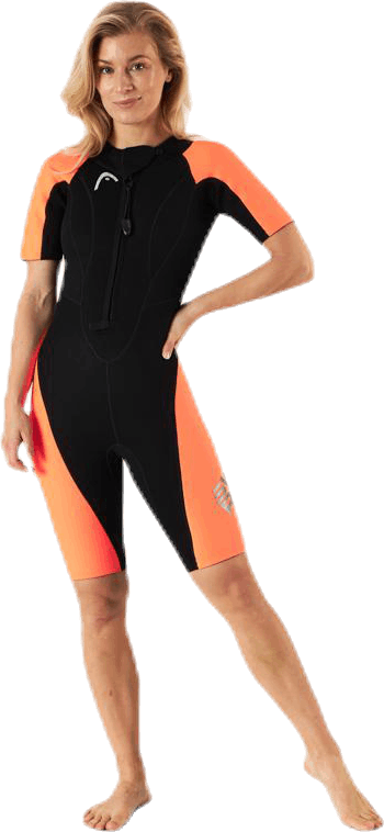 Swimrun Multix Shorty 2,5 Orange/Black