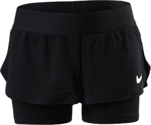 Court Flex Shorts White/Black