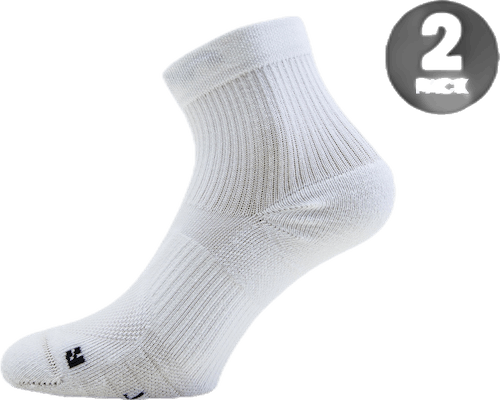 Running Ankle Socks White/Black