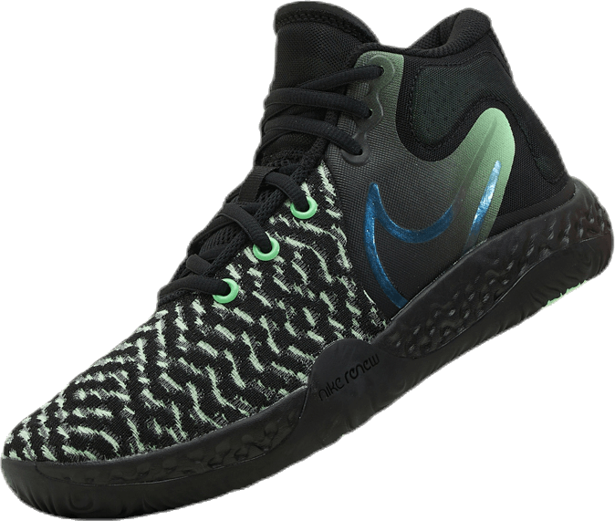 Kd Trey 5 Viii Black/Clear-Illusion Green-Racer Blue