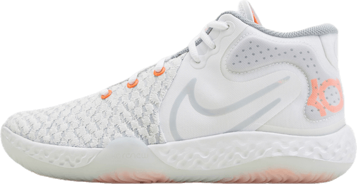 Kd Trey 5 Viii White/Pure Platinum-Total Orange