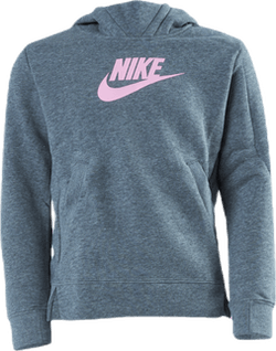 Girls Big Logo Pullover Pink/Grey