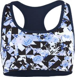 Swoosh Flower Reversible Jr Blue