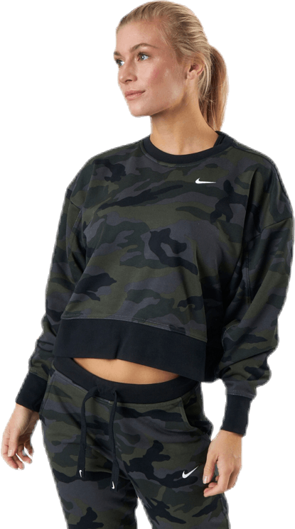 Women'S Dri-Fit Get Fit Training Crew Thunder Grey/White