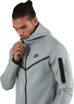 Tech Fleece Hoodie Fz Grey