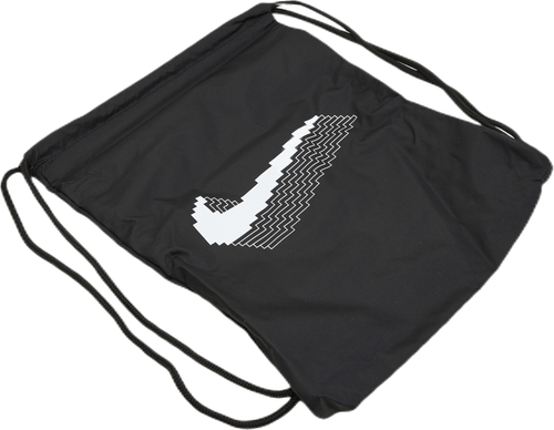 Graphic Gym Sack White/Black