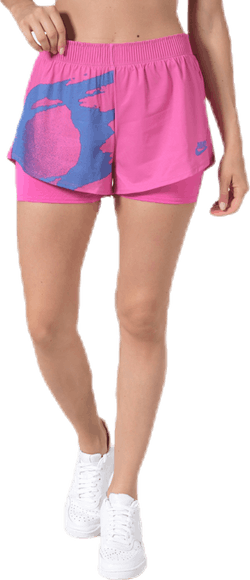 Court Slam Shorts Pink/Blue