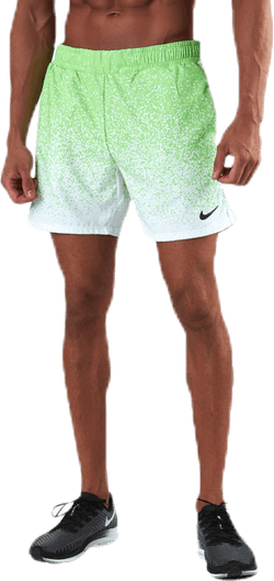 "Rafa 7"" Shorts Black/Green"