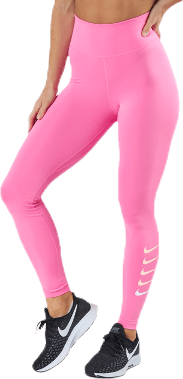 Swoosh Run Tight 7/8 Pink/Silver