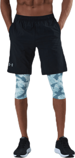 Launch SW Long 2-in-1 Printed Short Blue