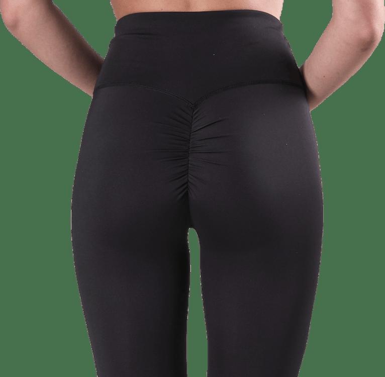 Fitness Scrunch Tights 7/8 Black